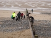 Knott End beach cleaners