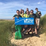 Sefton Rangers with Jayne at Ainsdale beach
