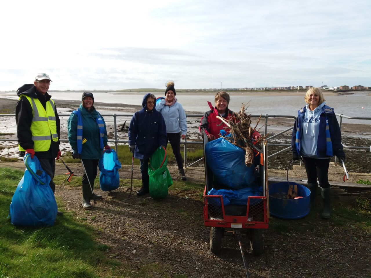 Knott End volunteers