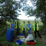 Freckleton litter pick